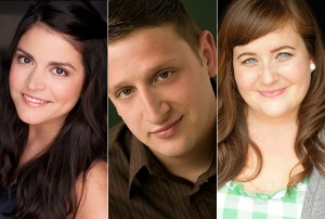 Cecily Strong Tim Robinson Aidy Bryant SNL